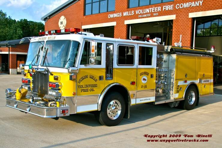 Seagrave Fire Apparatus >> Owings Mills