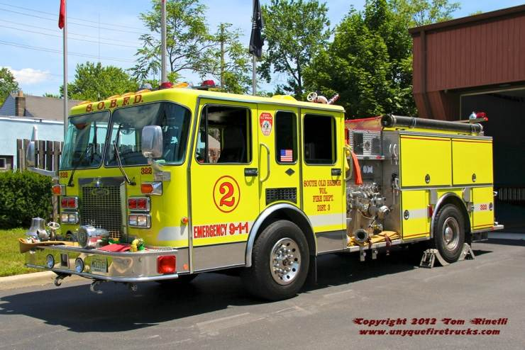 Engine 310 - 2003 Spartan/Crimson 1500gpm/750 gal.